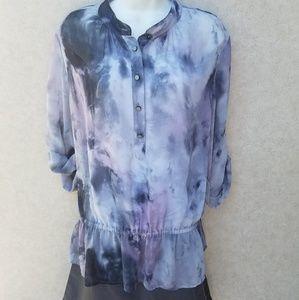 Michael Kors Tops - 💢SOLD💢MICHAEL KORS Chiffon Blouse Size XL